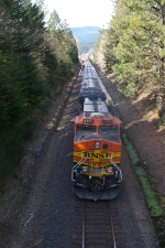 BNSF 4399 Bringing up the Rear