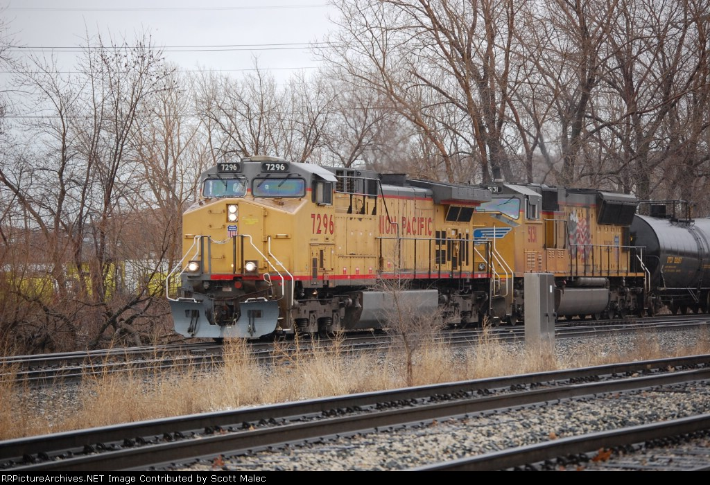 UP 7296 & 5131