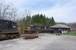 CSX 4550 heads back to the coal fields os W.Pa. 