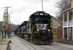 NS 8852 close up on Main Street