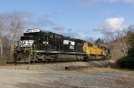 NS 8735 waits at Clarksville