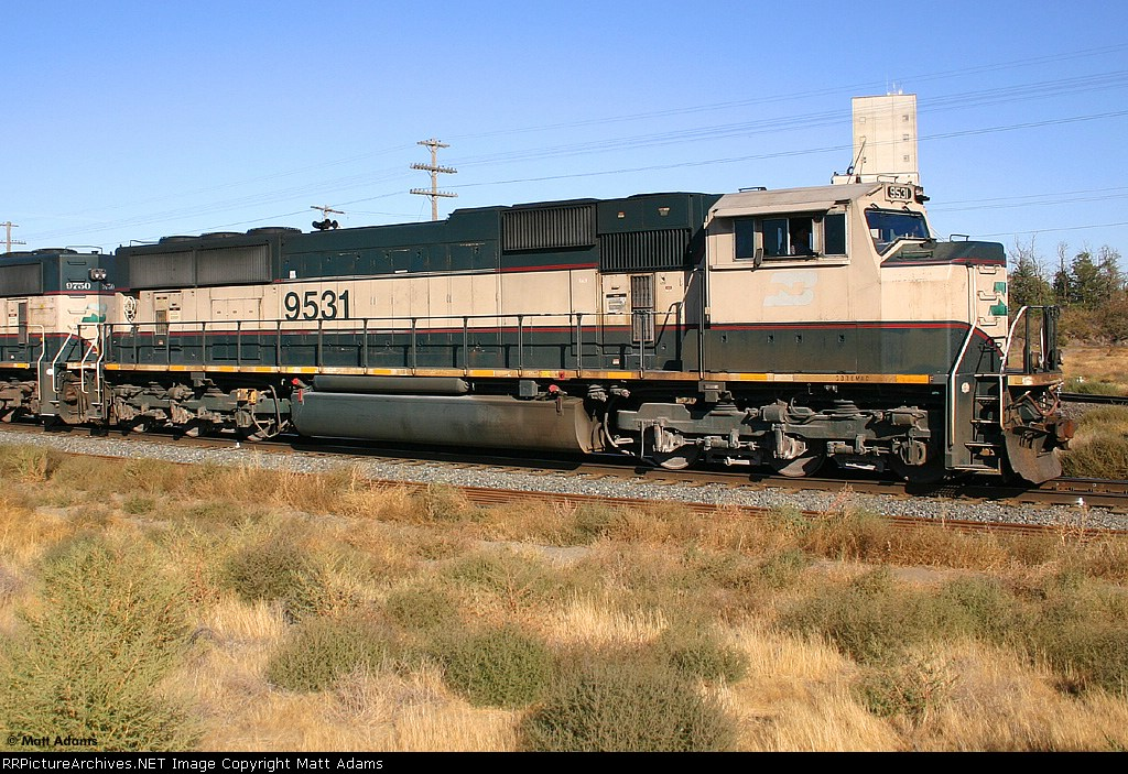 BN SD70MAC 9531