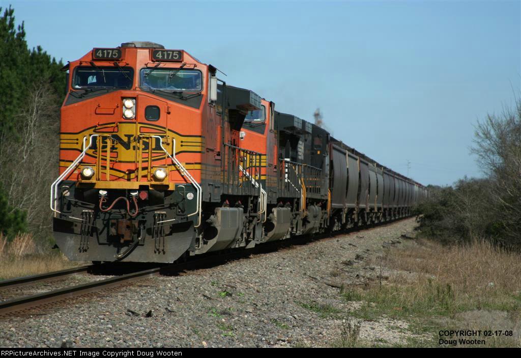 Southbound BNSF Grain Train