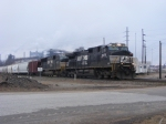 NS 9878 arrives into Nixon Yard