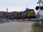 CSX 452 and all of the locomotives on its train