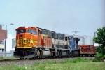 BNSF 9842 SD70MAC