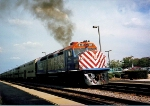 Metra 612 departs for Chicago