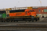 BNSF 8091 by the Hump