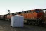 BNSF 7590 Mid-Train