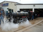 #801 steaming up