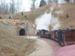 entering Ozark Mountain tunnel