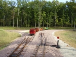 GP-9 and train going away
