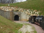 #801 entering the big tunnel