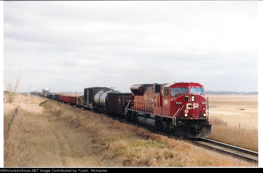 CPR 90mac West at Douglas Manitoba
