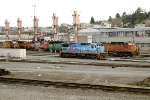 KCSM 3498 and BNSF 4824
