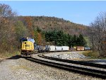 Rounding the horseshoe curve
