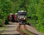 NS 7650 on the Conemaugh Line