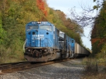 NS-CR6719 still in Conrail Blue is waiting for a signal