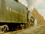 PRR 1361 is accelerating away on the N&BE