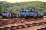 Conrail Power Line-Up