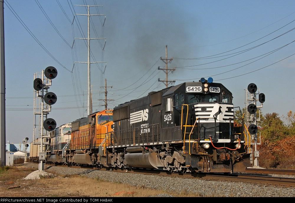 NS 5426 on NS 416