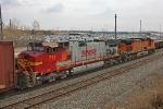 BNSF 711 on NS 145