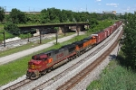 BNSF 4719 on NS 145