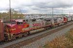 BNSF 670 on NS 145