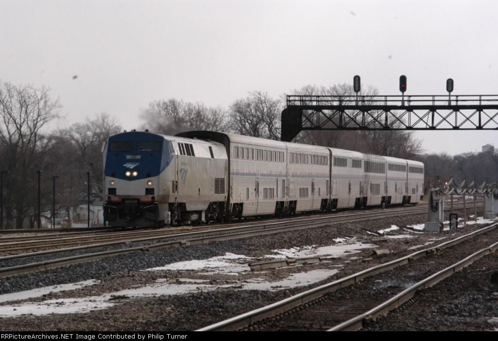 "Amtrak 22 the ""Texas ""Beagle"""""