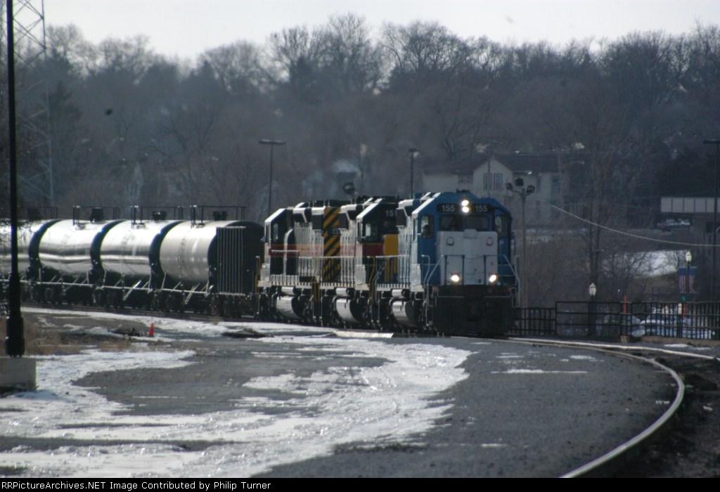 Iowa Interstate Ethnol train from Iowa
