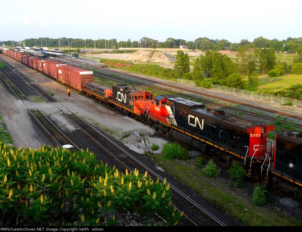 CN 2543, CN 7258 & CN 222