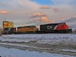 CN 5324 & UP 2681
