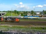 CN 7028 & VIA 911