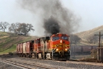 BNSF 4346 Smokin' It Up
