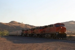 BNSF 6624 Leads The M-RICBAR 