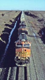 BNSF 4511 with Westbound Intermodal