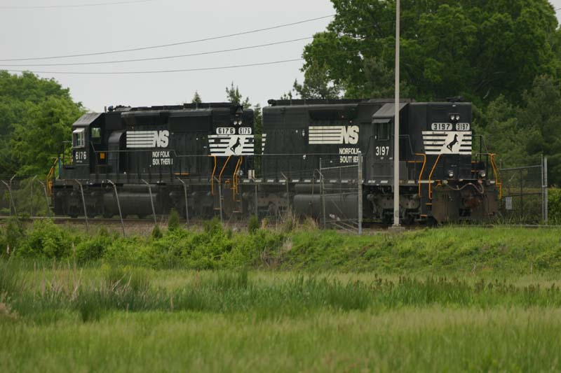 Locomotives Await Action at Miller Brewery