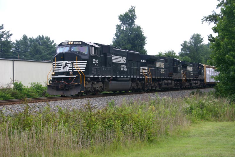 Southbound Mixed Freight