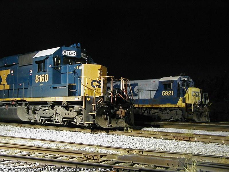 CSX 8160-CSX 5921