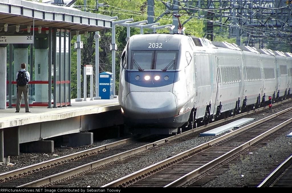 Amtrak Acela 2168