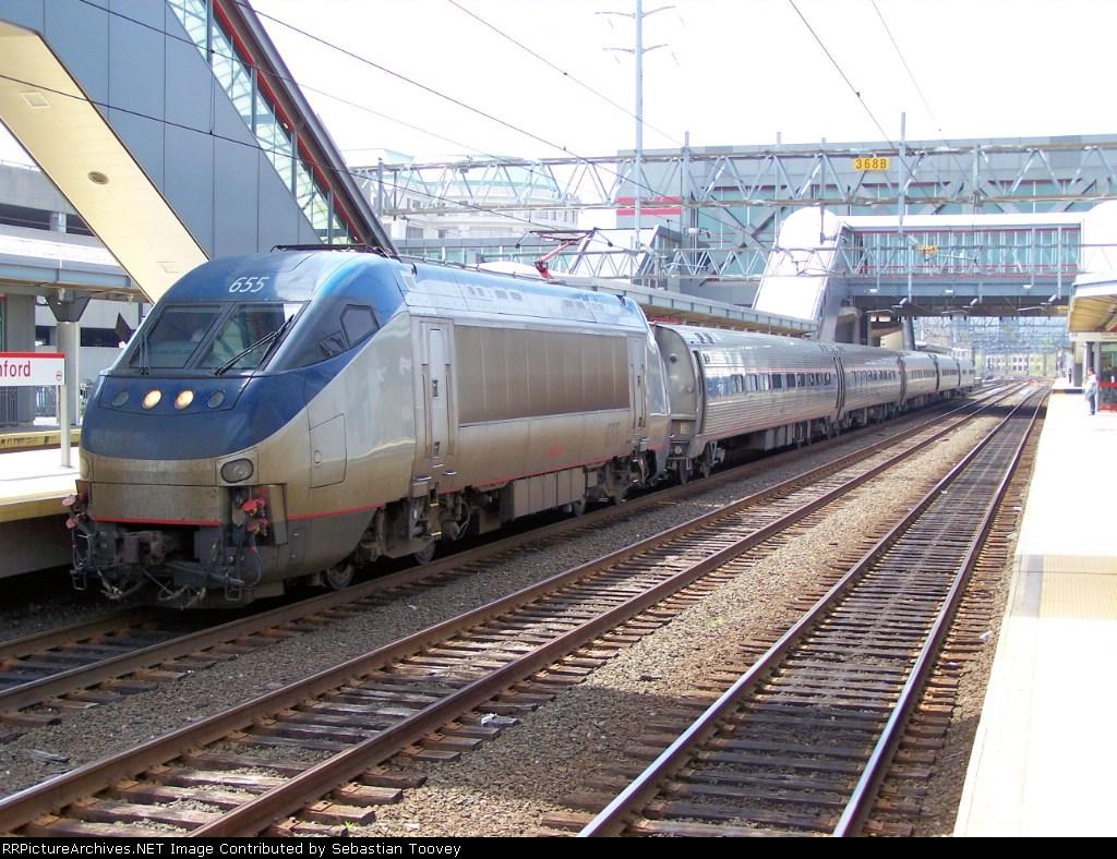 Amtrak 54 Eng 655
