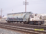 AEX 11086 is moved by Amalgamated Sugar GE 25T switcher