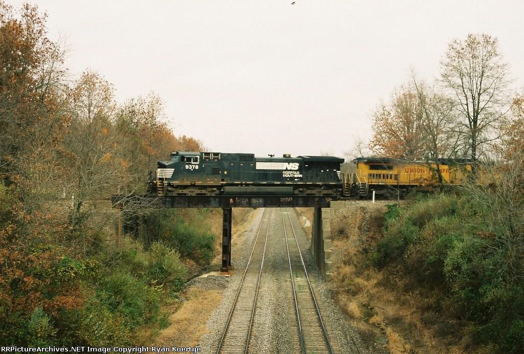 West bound NS 9278