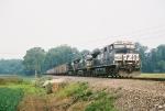 NS 9760 leaving Gibson Sou. power.