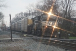 WB Norfolk Southern 9204 at Princeton, In..