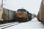 CSX 5378 grain train at CGB