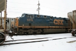 CSX 5378 grain train