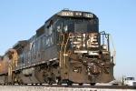 EB Norfolk Southern leaves Golden Gate siding.