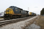 Why are three CSX engines sitting at Newton on INDR and CN?