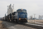 WB former Conrail leads an WB Norfolk Southern at MP 136